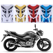1Pcs Silver Red Gold Blue 3D Motorcycle Fuel Oil Tank Pad Decal Protector Cover Sticker Universal for YAMAHA Car Styling Sticker(China)