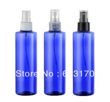 250ml blue pet spray bottles empty plastic containers mist perfume bottle wholesale free shipping