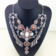 The Tortoise Necklaces & Pendants For Women All-match Jewelry Luxury Rhinestone Statement Necklace Wholesale Fashion Necklace