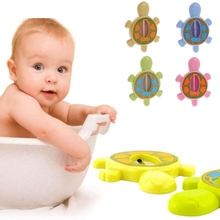Buy New 1Pc Baby Infant Bath Tub Water Temperature Tester Animal Cartoon Turtle Thermometer Babe Care for $1.37 in AliExpress store