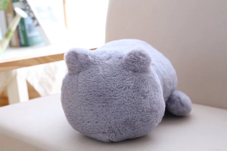 1pcs Cute Soft Cat Stuffed Pillow Lovely Kawaii Animal Plush Shadow Cat Plush Toy For Kids Gift Home Decoration (10)