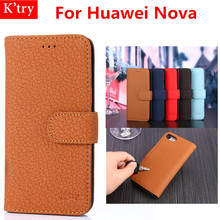 Hot Selling Wallet Flip Case For Huawei Nova Vintage Leather Cover Case For Huawei Nova Phone Bag Skin Fundas(China)