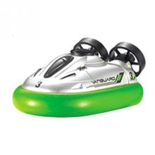 2017 Hot Sale 777-220 Self Charging Mini Micro I/R RC Remote Control Sport Hovercraft Hover Boat Toy 4 Colors(China)