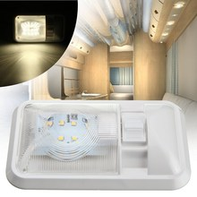 White 24 LED Roof Ceiling Interior Reading Dome Light For Camper Car RV Boat Trailer 12V DC(China)