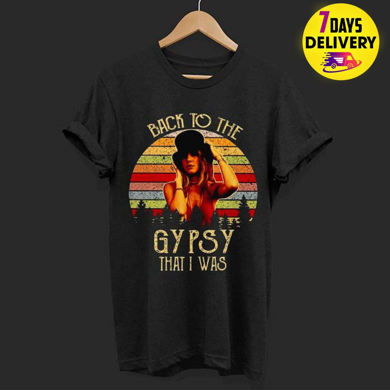 Stevie Nicks Shirt Rock On Gypsy Stevie Nicks Birthday fleetwood mac T-shirt