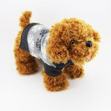 Fashion Smart Lovely  Sunshine-resist Pet Dog Christmas Snowflake Printed Clothes Puppy Winter Sweater Costume Coat Hundebekleid