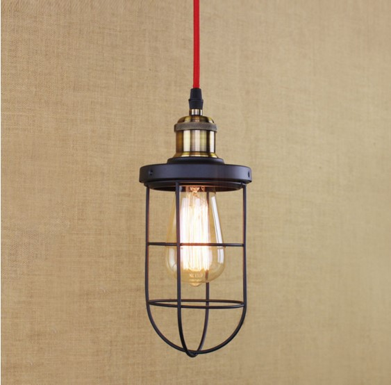 60W Edison Vintage Pendant Lamp For Dinning Room In Loft Industrial Pendant Lights Luminaria Handlamp Lamparas<br>