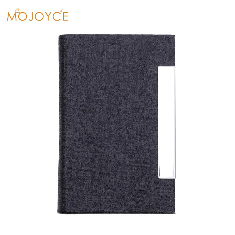 2017 New Arrival High-Grade Stainless Steel Men Credit Card Holder Women Metal Bank Card Case Card Box Card Holder Rfid Wallet