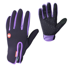 Hot Sale Touch Screen Ski Gloves Windproof Breathable Snowboard Gloves Outdoor Sports Women Men Child Skiing Gloves(China)