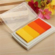 2014 SH Brand DIY Craft Multi Colors Ink Pad Oil Based For Rubber Stamps Paper Wood Fabric New HS(China)