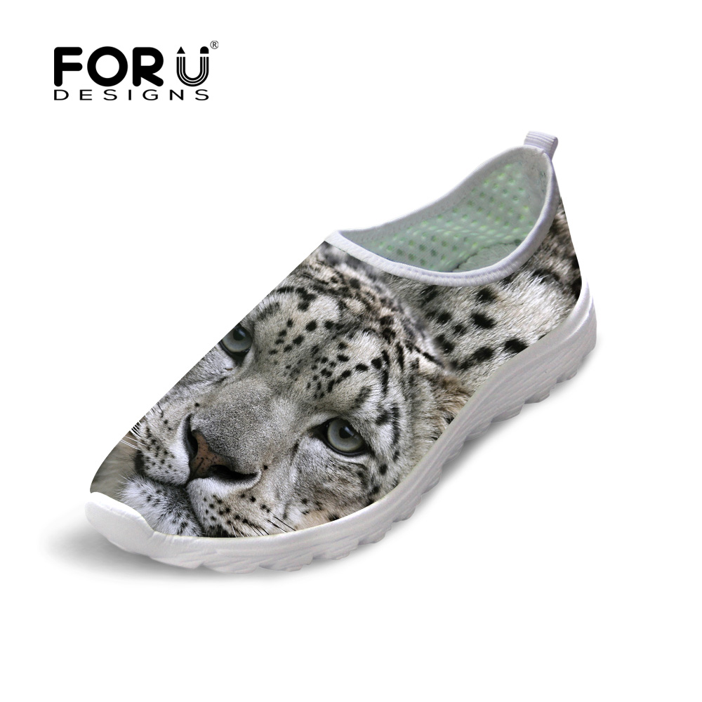 New Summer Style Men Mesh Shoes Breathable Animal Leopard Print Casual Shoes for Men Outdoor Flat Shoes Slip-On Platform Shoes<br><br>Aliexpress