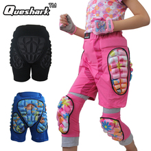 Queshark Women Men Adults Kids Girl Boy Skate Ski Hip Butt Pad Pants Outdoor Trousers Gear Pad Sports Shorts Snowboard Pants