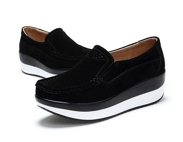 HX 3213 (22) Autumn Platforms Women Shoes