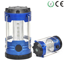 Portable Lantern 12 LEDs Brightness adjustable Camping Light Hand Lamp compass Outdoor Camping Lantern Waterproof Tent Light(China)