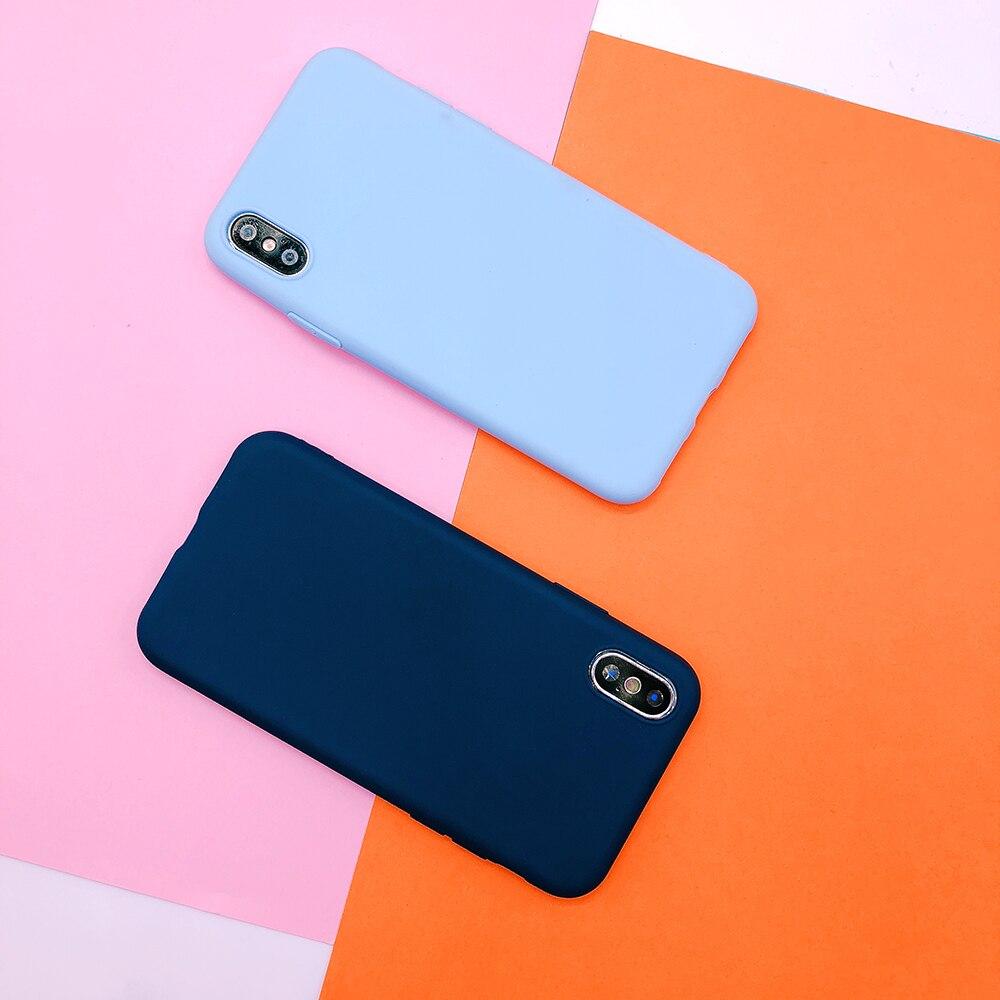 For huawei P20 plus lite P10 P9 lite plus P smart Candy Color soft TPU Case on mate 9 10 pro Nova 2 plus 3e Y9 2018 cover funda (5)