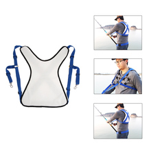 Big Fish Ocean Fishing Shoulder Harness Distributing Load Preventing Sprains Shoulder Instability Fishing Tackles Tool Pesca(China)