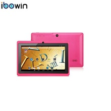 ibowin P740 7inch tablet PC Allwinner A33 Quad-core Android 4.4OS Bluetooth Google Play Store 1024x600 Resolution 2Cameras