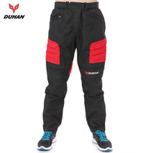 DUHAN Men's Motorcycle Pants Riding Trousers Motocross Off-Road Racing Pants Sports Knee Protective Pants(China)