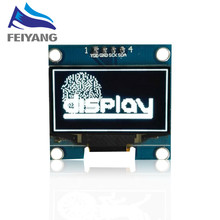 "1PCS SAMIORE ROBOT 1.3"" OLED module white color 128X64 1.3 inch OLED LCD LED Display Module 1.3"" IIC I2C Communicate(China)"