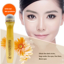 24K Eye Cream Skin Remove wrinkles gold activating eye cream slide ball essence dark circles anti-puffiness finelines Onespring(China)