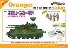 DRAGON 9130  1/35 Scale  ZSU-23-4M Air Defense System + Soviet Motor Rifle Troops Plastic Model Building Kit