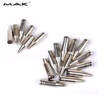 20/40 pcs 8 mm Field Tips Point Arrowhead in Steel Broadhead Tips for Compound Bow Archery Hunting Shooting(China)