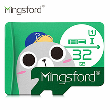 Mingsford High Speed 16G / 32G / 64G / 128G SD / TF Card Class 10 Flash Memory Storage for Cell Phone Tablet Pad Mobile Devices