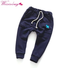 Autumn Winter Cute Toddler Kids Boy Girl Harem Pants Trousers Slacks Bottoms Clothing Baby Clothes 2-7Y(China)