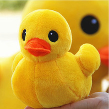 Kawaii Hot Lovely Cartoon Animal Plush dolls Children Stuffed Animals big yellow duck toys for Children  20cm 30cm 50cm washable