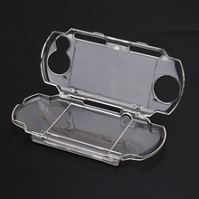 Protector Clear Snap-in Crystal Game Case Travel Carry Hard Cover Durable Case For Glare Reduction for Sony PSP 2000 3000 L3FE