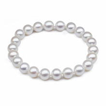 New Brand Fashion Bijoux Imitate Pearls Beads Bracelet For Women Jewelry Girls Bracelets Bangles Elastic Chain Pulseira Feminina