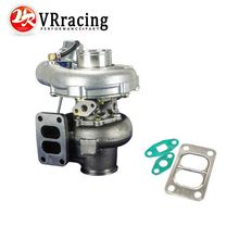 VR RACING - TURBO KKR480 Turbocharger RB20/RB25/13B,A/R:.50 cold,70 hot.t3 flange t3/t4 bearing housing MAX HP: 450HP VR-TURBO43(China)