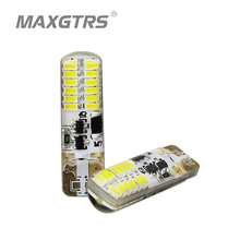 2x T10 Strobe Flashing 194 W5W 22 Led 3014SMD T10 Led Lasting Shine+Auto Strobe Flash Two modes of Operation Car light bulbs
