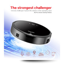 Smart Plan type Robotic Vacuum Cleaner A6 Dry and Wet ROBOT for Home with Wifi(China)