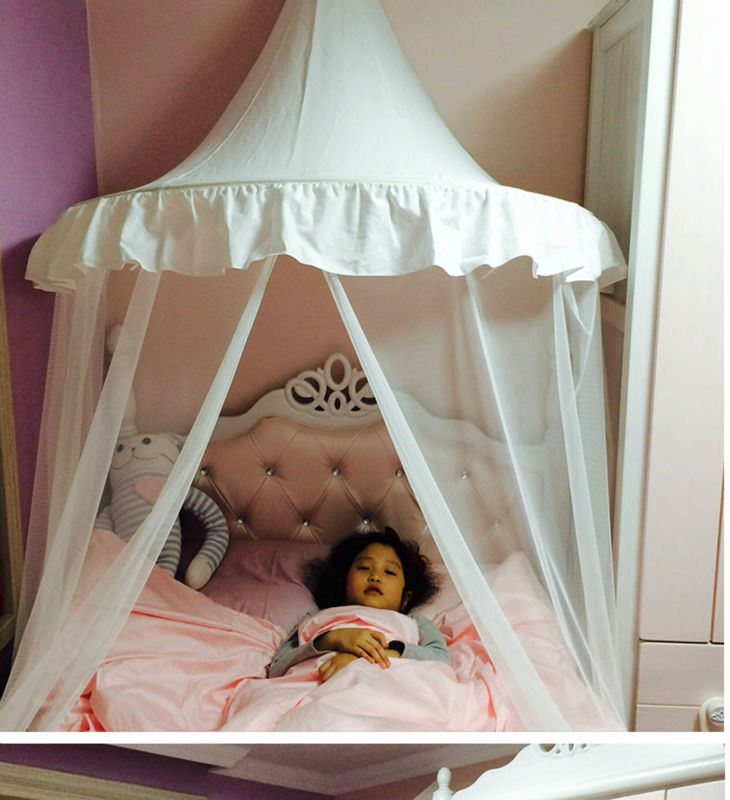 Free Shiping Birthday Gift Princess Mosquito Net Girl Play House Tent Indoor Room  Kids Play Roon Bed Net<br><br>Aliexpress