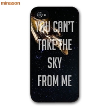 minason Firefly Serenity Quote Poster Cover case for iphone 4 4s 5 5s 5c 6 6s 7 8 plus samsung galaxy S5 S6 Note 2 3 S5054