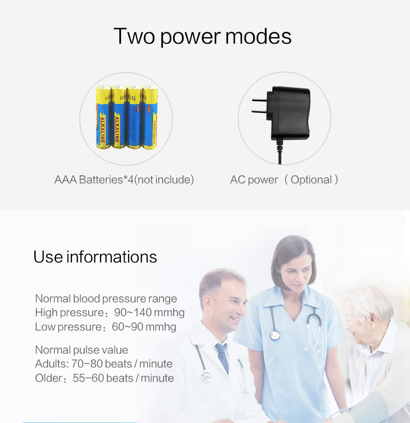 Batteries not included - Majota Cigbg Home Digital Upper Arm Blood Pressure Monitor
