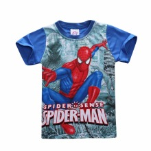 Kids boy's t shirt Spiderman cotton short-sleeved t-shirt printing children's cartoon kids boys child's clothes