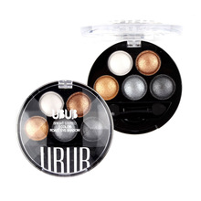 2017 Quality UBUB Professional nude eyeshadow palette makeup matte Eye Shadow palette Make Up Glitter Pigment eyeshadow 5 Color(China)