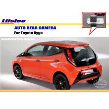 Liislee Car Reverse Camera For Toyota iQ Matrix Aygo - Rear ViewParking Camera / Night Vision Fix Beside License Plate Light(China)