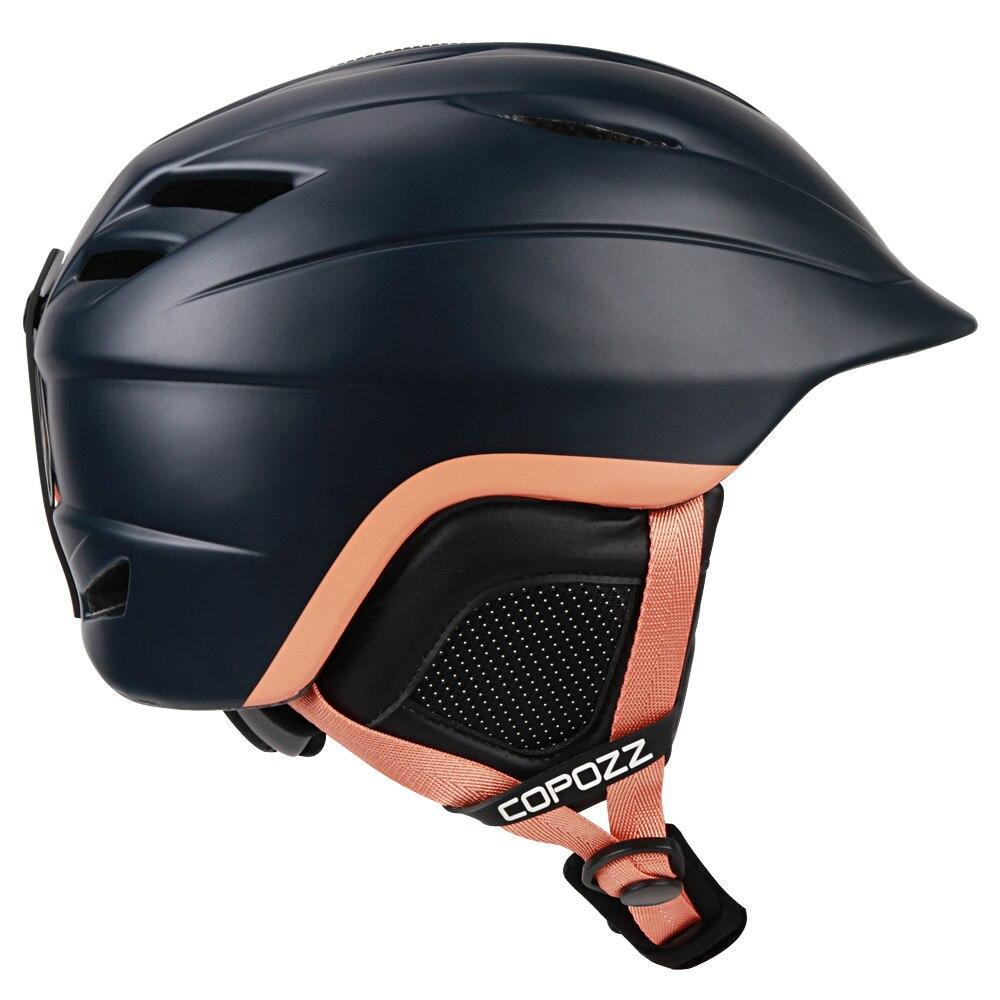 COPOZZ Brand Snowboard Ski Helmet Safety Integrally-molded Breathable Helmet Men Women Skateboard Skiing Helmet Size 54-62cm<br>
