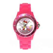 hello kitty Kids Watches Children Silicone Waterproof Wristwatch Brand ladies Quartz Fashion Casual Reloj femininos montre(China)