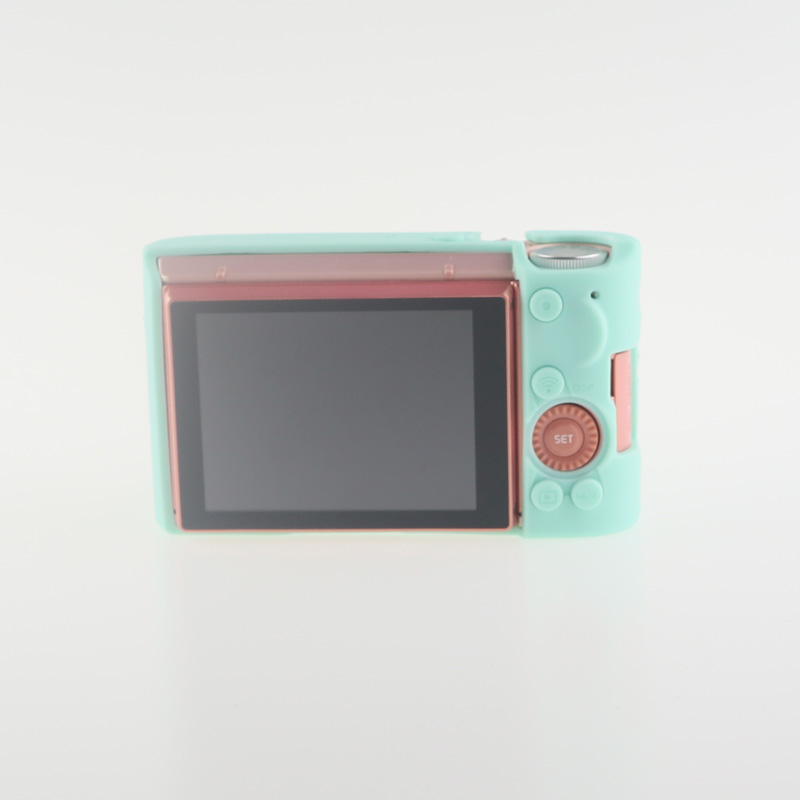 Soft Silicone Rubber Camera Bag Protective Body Case for Casio ZR5000 5500 5300-6