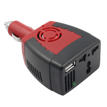 1pcs 150W 12V DC 20A MAX to 220V AC 50Hz Car Power Inverter Adapter With USB Charger Port Cigarette Lighter Power Supply