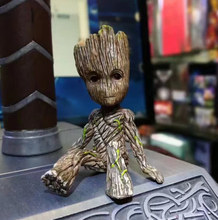 kawaii 6CM anime figure Guardians of the Galaxy 2 tree man baby sitting ver action figure collectible model toys brinquedos