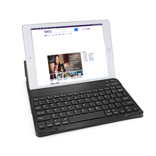 BH020 BH030C 7 / 9.7 inch BT Wireless Keyboard 59 Key with Leather Cover for Android Windows iOS Mac Tablet PC TV Box