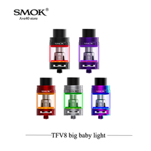 New Arrival SMOK TFV8 Big Baby Light Edition Tank Update Electronic Cigarettes Atomizer 5ml Capacity M2 Q2 T6 T8 X4 VS RDA RDTA(China)