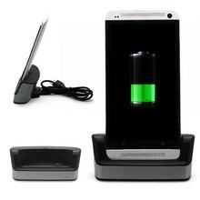 Desktop Sync Data Charger Dock Cable Station Stand Cradle For HTC One Max + USB Cable