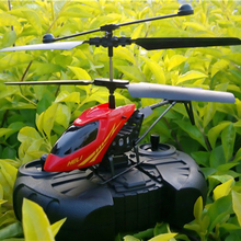 2CH Mini rc helicopter Radio Remote Control Aircraft Helicoptero Electric Micro 2 Channel Helicopters toys(China)