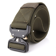 125CM Swat Military Equipment Quickly Unlock Army Belt 100% Nylon Waistbanc Mens Heavy Duty US Soldier Combat Tactical Belts(China)